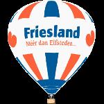 Ballon varen Friesland